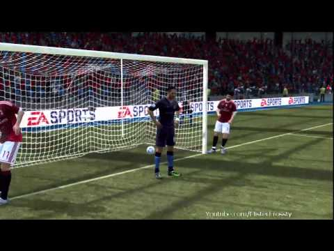 FIFA 12 l Joleon Lescott The Piggeyback Ninja (Funny Physics) [HD]