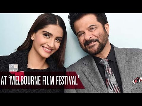 Sonam Kapoor and dad Anil Kapoor at 'Melbourne Film Festival' | Bollywood News