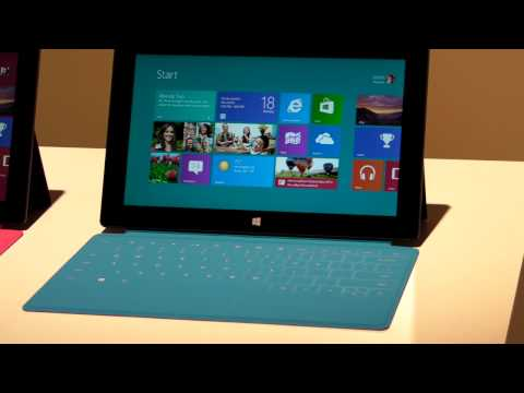 Microsoft Surface Tablet: Hands-on