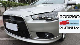 Mitsubishi Lancer é bom Opinião Real do Dono Detalhes Parte 1