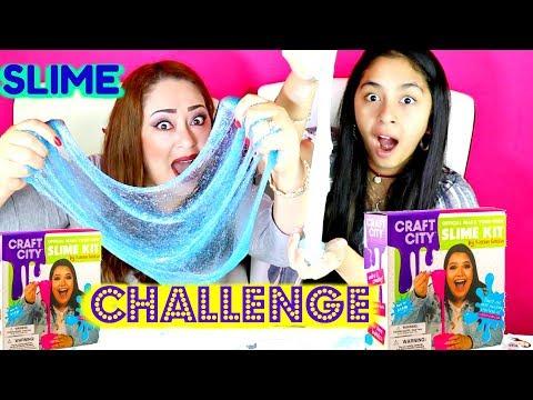 SLIME DIY CHALLENGE!!B2cutecupcakes