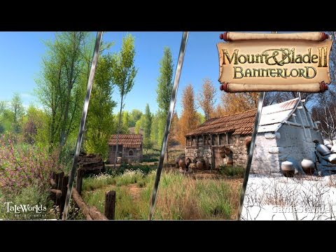 Mount & Blade II: Bannerlord - Строительство замков, огромные армии, сезоны и летающие люди