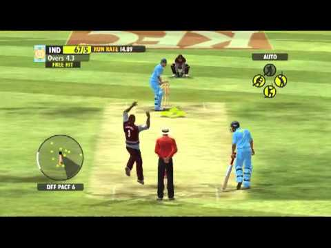 Ashes Cricket 2009 Tamil Gameplay