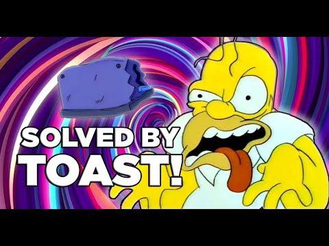 A Toaster Fixes The Simpson's Canon