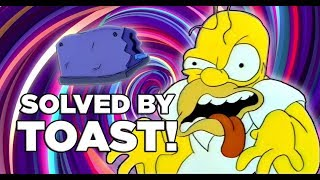 A Toaster Fixes The Simpson
