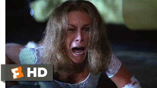 Halloween II (8/10) Movie CLIP - The Desperate Crawl (1981) HD