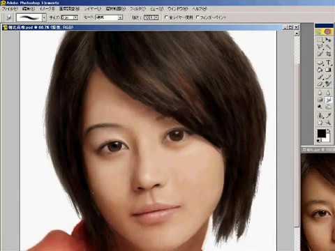 Painting Horikita Maki with Photoshop