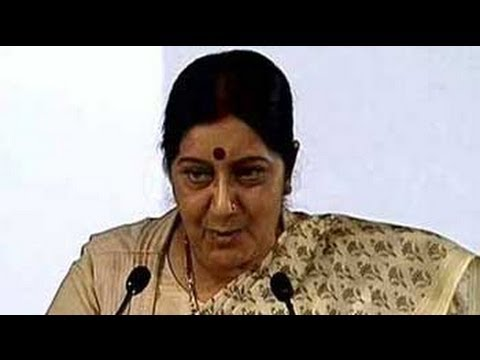 Ask Rajnath Singh about me being BJP's PM nominee, quips Sushma Swaraj