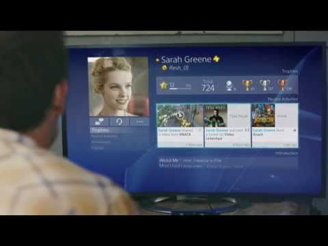 PlayStation 4 - User Interface