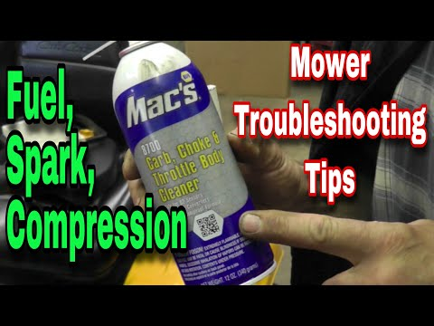 Mower Won't Start - Troubleshooting Tips - with Taryl