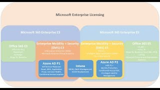 Microsoft 365 E3 and E5 Licensing