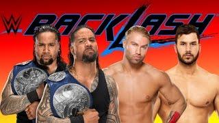 WWE 2K17  Breezango vs The Usos at wwe Backlash!!