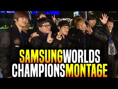 Samsung Galaxy Worlds 2017 Champions Montage! - SSG Best of Worlds 2017 | Be Challenger