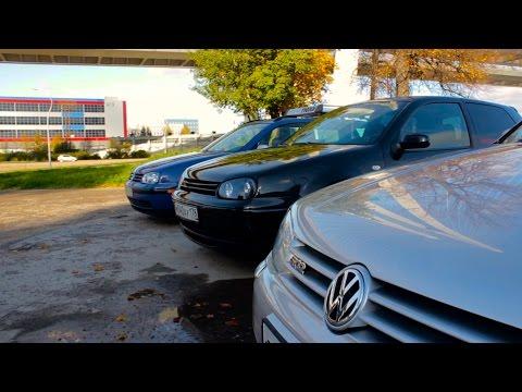 Едущие GOLF IV R32, VR6 и GTI