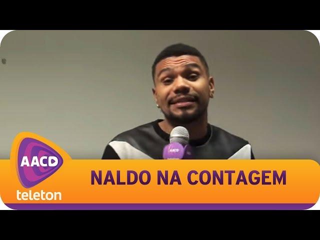TELETON 2014 - Naldo entra para a contagem regressiva.