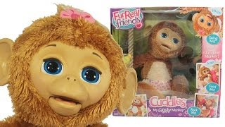 Furreal Friends Cuddles | My Giggly Monkey Pet