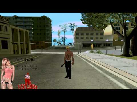 Замена скинов Los Santos Vagos Gang GTA San Andreas A&A RolePlay