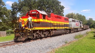 Kansas City Southern: Locals, MOWs and the Big Wigs.