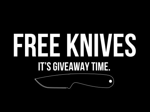 Free Knives from Blade HQ