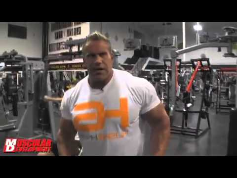 Jay Cutler road to Olympia 2013 bicep injury