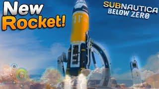 NEW Exchange ROCKET! - Subnautica: Below Zero   Subnautica News #123