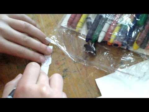 Как сделать кольцо из бумаги супер кота