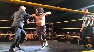 William Regal cuts a rug with No Way Jose at an NXT Live Event
