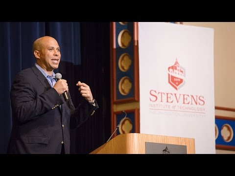 Stevens Institute of Technology: Senator Cory Booker Hosts Tech Innovation Panel