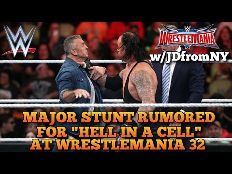 "Wrestlemania 32: ""Major Stunt"" Planned For Shane McMahon vs The Undertaker At Wrestlemania 32"