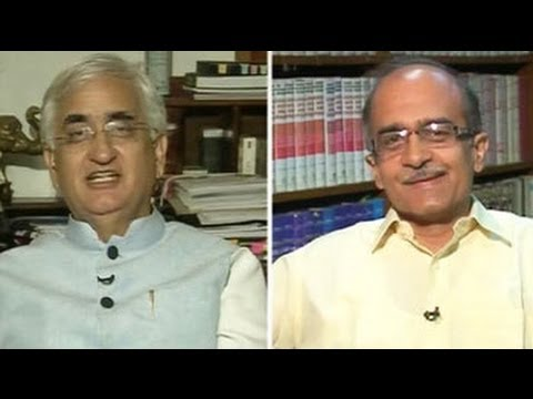 Khurshid, Prashant Bhushan face off over Vadra-DLF allegations
