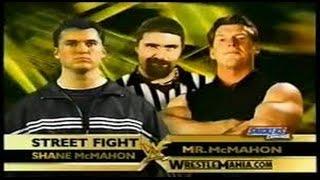 Vince McMahon vs Shane McMahon l WrestleMania 17 l Combates WWE