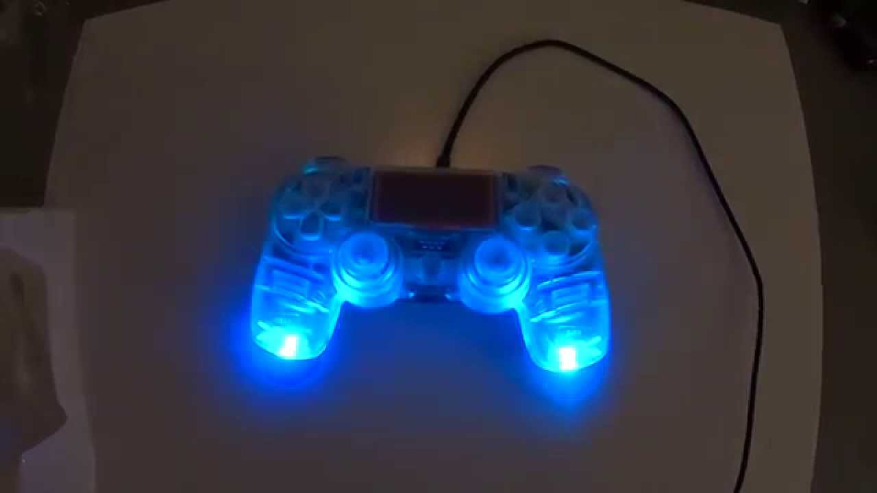 Ps4 Controller Buttons Led Ps4 Controller Clear