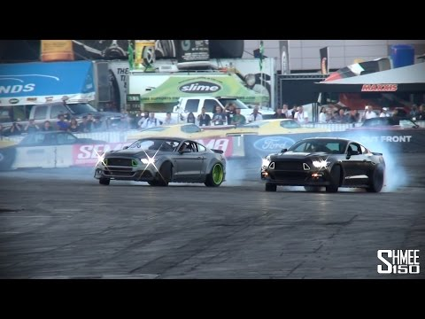 Ford Mustang RTR and Spec 5 Car - Epic Drifting Show