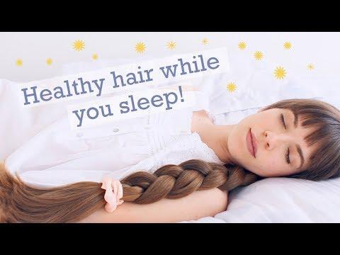 PROTECTIVE SLEEP HAIRSTYLES! Haircare tips for healthy & beautiful hair! - YouTube