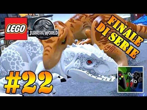 FINALE DI SERIE - LEGO JURASSIC WORLD #22 [ITA] - SCONTRO FINALE! (HD)