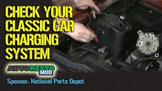 How To Check Starting And Charging Systems On Classic Muscle Car Episode 252 Autorestomod