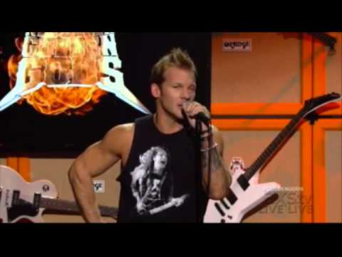 Metallica At Golden Gods Award Show