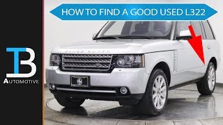 How to Find a GOOD Used Range Rover: Part 1 - Online Search