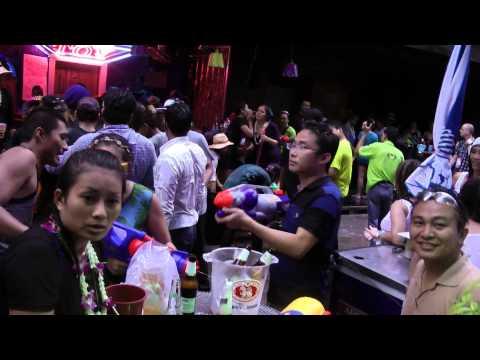 songkran 2014 at soi cowboy bangkok thailand
