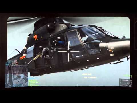 battlefield 4 | attackheli tow missiles, TV's and rockets |