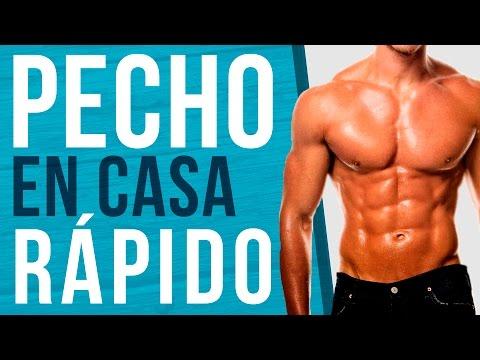 RUTINA DE PECHO EN CASA - Entrenamiento para pectorales rápido