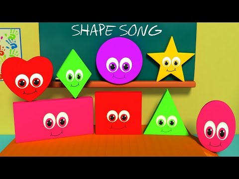 the Shapes Song | shape song