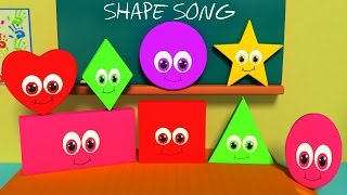Nursery Rhymes From Oh My Genius - the Shapes Song | shape song