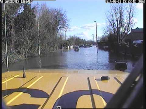 AA SORT Respond to Incidents During 2014 UK Floods