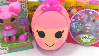 Giant Lalaloopsy Play Doh Surprise Egg with Cool Surprise Toys