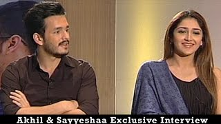 Download Akhil Akkineni and Sayesha Saigal Exclusive Interview | Akhil the power of JUA | Vanitha TV 3Gp Mp4