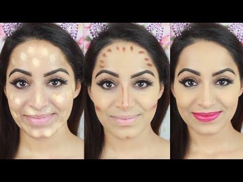 Step By Step Flawless Base Makeup (HINDI)  Deepti Ghai Sharma