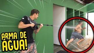JATO DE ÁGUA MAIS FORTE DO MUNDO !! ( DEU RUIM ) [ REZENDE EVIL ]