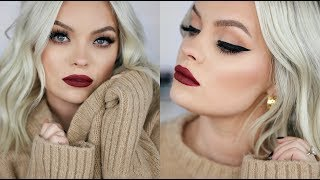 HOW TO: EASY FALL GLAM MAKEUP TUTORIAL