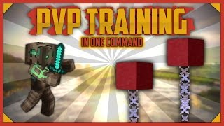 Minecraft - HONE YOUR PVP SKILLS | Pvp Training [One Command]